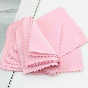 Real Jewelry Cleaning Cloth Polish Cloth For Silver Gold Platinum S9D0