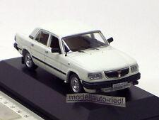 IST 033 IXO 1:43 VOLGA GAZ 3110 1997 white DDR
