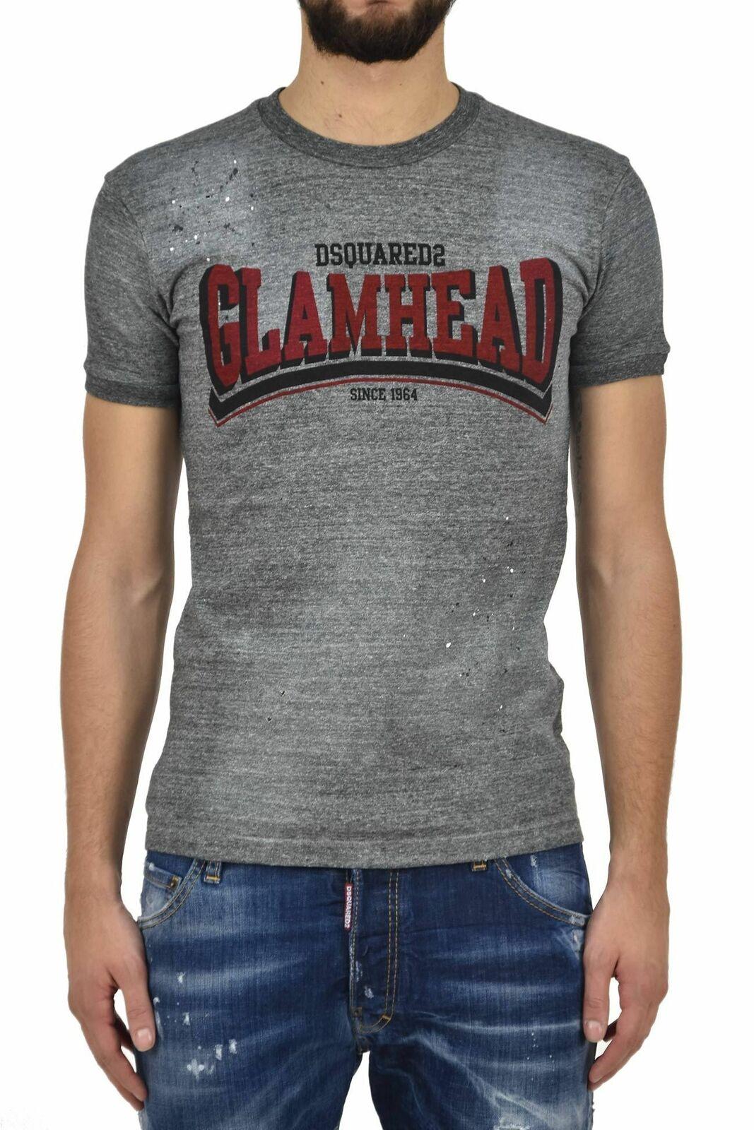 Dsquarot2 T-hemd GLAMHEAD männer - Größe  S - Nuevo