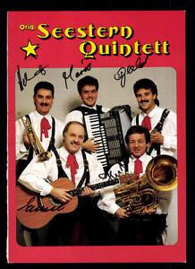 Jäger Quintett Autogrammkarte Original Signiert ## Bc 49035 Um Jeden Preis Autogramme & Autographen Original, Nicht Zertifiziert