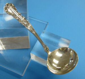 Sterling-Silver-Gorham-Buttercup-Gravy-Ladle-No-Monogram