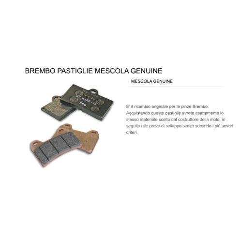 Pastiglie Brembo Freno Anteriori 07GR77.07 per Aprilia SHIVER SL 750 2007 /> 2016