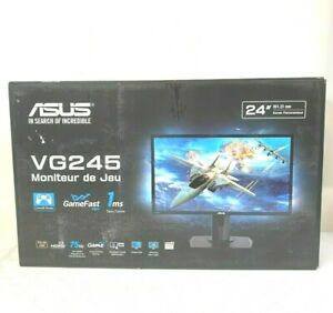 """Asus VG245H 24"""" LED FHD 1 ms 75Hz FreeSync Full HD Gaming Monitor New:Openbox"""