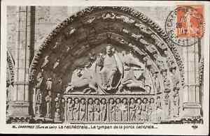 28-CPA-la-Catedral-de-Chartres