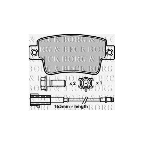For Renault Master MK4 2.3 dCi RWD Variant2 Borg /& Beck Rear Brake Pads Set
