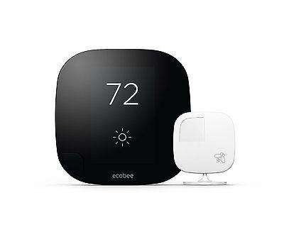 ecobee e3 Smart Wi-Fi Thermostat w/ Remote Sensor  - HomeKit  2ND GENERATION