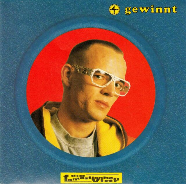 DIE FANTASTISCHEN VIER : VIER GEWINNT / CD - TOP-ZUSTAND