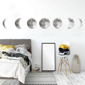 Luminous-Moon-DIY-3D-Wall-Sticker-Glow-In-The-Dark-Home-Decor-Bedroom-Decal-Gift