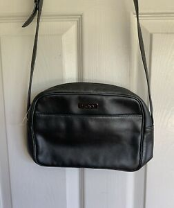 New..DKNY Leather Ross body Bag