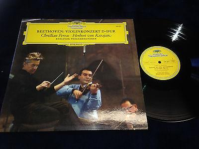 Beethoven Violin Concerto Christian Ferras Karajan LP  Near Mint vinyl