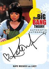 BIG BANG THEORY - SEA 6&7 - KATE MICUCCI as LUCY Auto - KM1 - BV$100 - NrMt
