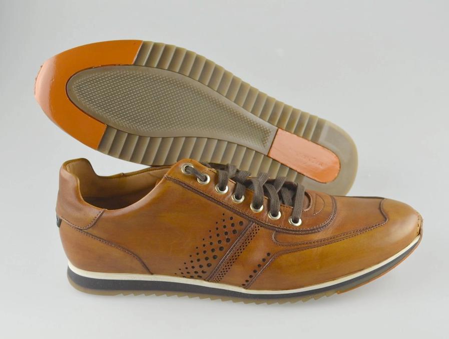 Men's Magnanni  'Pueblo'  Brown Leather shoes size US 10 - D