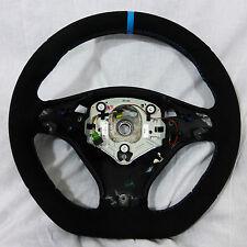 BMW E70 X5 M E71 X6 M Performance Alcantara Sport Steering Wheel Blue Stripe NEW