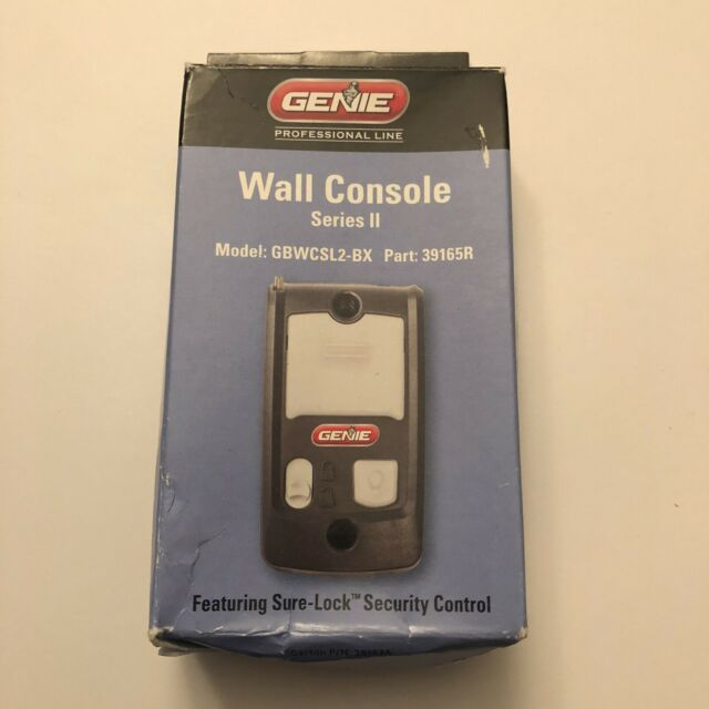 GENIE GEN39165R SeriesIi Wall Console