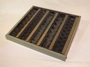 Ancien-casier-range-monnaie-Columbia-en-metal-industriel-commerce