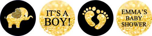 Hershey/'s KissesCandy Labels It/'s Baby Boy Shower  Stickers 190 Pcs-DS-KS111