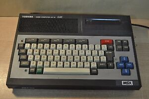 Toshiba-MSX-HX-10-64K-HomeComputer-MSX-Ver-1-0-Toshiba-Corporation-Made-in-Japan