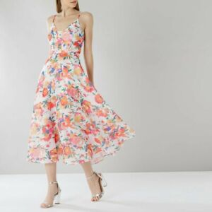 032309665a BRAND NEW WITH TAGS - Coast Tropicana Print Shannon Dress UK Size 8 ...