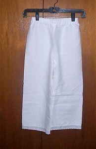 Girl's Civil War/Victorian Pantalets for Dress (size 12-14)
