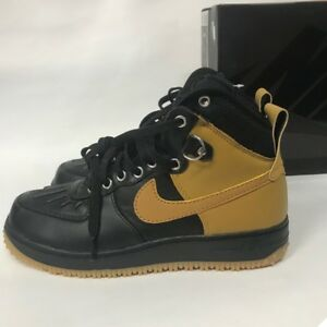 quality design b1721 88252 Image is loading Nike-Air-Force-1-DuckBoot-444745-006-Size8-