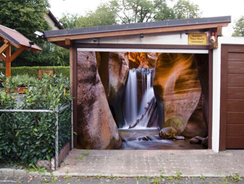 3D Stone Cave 721 Garage Door Murals Wall Print Decal Wall AJ WALLPAPER UK Carly