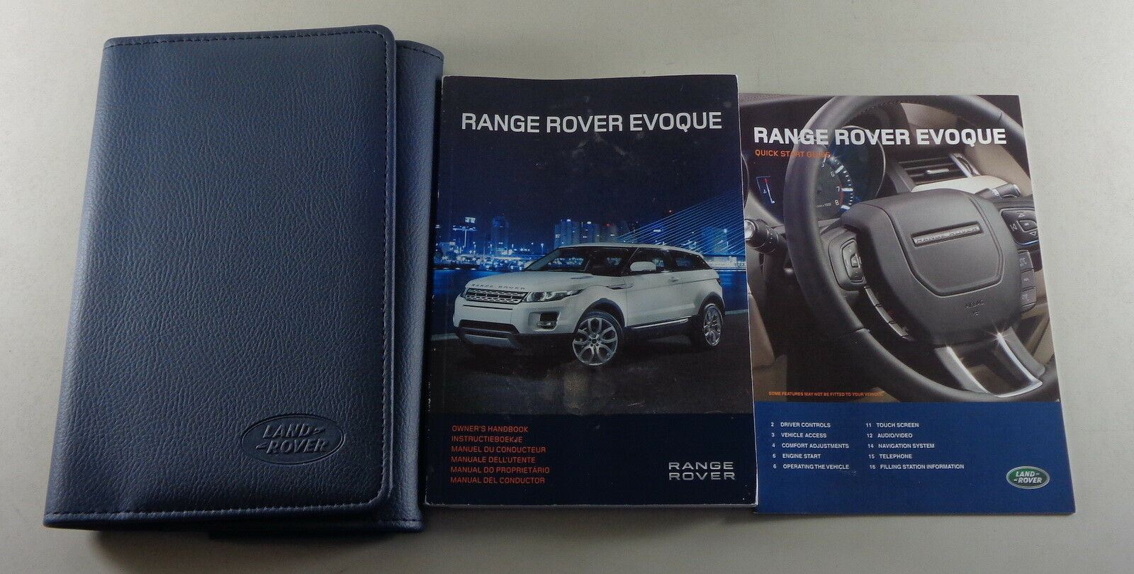 LAND ROVER RANGE ROVER I Proprietari Manuale /& manuali wallet NUOVO