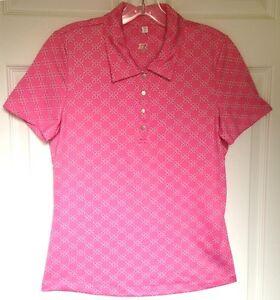 Women-039-s-Tail-Short-Sleeve-Golf-Shirt-Small-Reg-78
