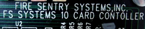 USED FIRE SENTRY SYSTEMS 2203-CCA CARD CONTROLLER 2203CCA