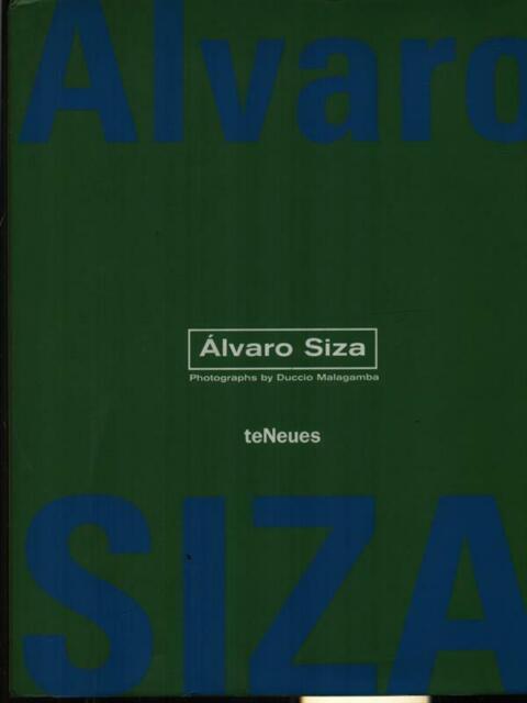 ALVARO SIZA PRIMA EDIZIONE AA.VV. TENEUES 2002