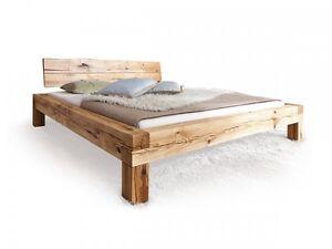 Lias Massivholzbett Doppelbett Bett Eiche Massiv Geölt Inkl