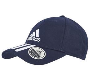 adidas 6P Training Cap 3 Stripes Tennis Hat UV Protection Navy ... 14e72aa5c86c