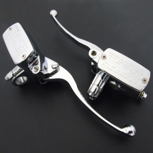 1 Pair 7//8 /'/' 22mm Motorcycle Handlebar Hydraulic Control Clutch Brake Levers