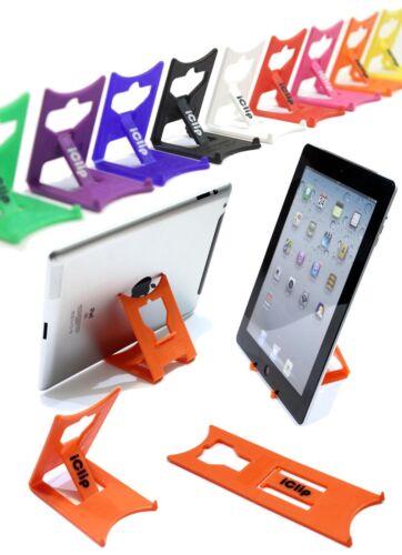 Apple iPad, Galaxy Tab, 9 10 Tablette Support: Orange Iclip Pliant Table Stand