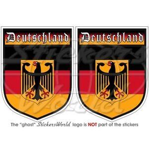 GERMANY-Deutschland-German-3-034-75mm-Bumper-Stickers-x2