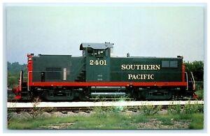 POSTCARD Southern Pacific Railroad Number 2401 Alco C-415 Train
