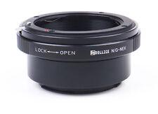 Dollice Nikon F G Lens to Sony E Mount NEX Camera Lens Adapter  A7s A7R A6000