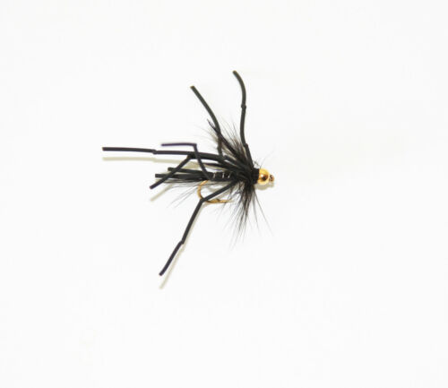 Vibrating Daddy Longlegs Rubber Legs Top Quality Trout Flies Choice Of Size Qty
