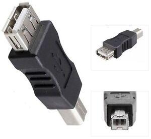 USB-2-0-A-Buchse-auf-B-Stecker-Drucker-Scanner-Pc-Kamera-Verbinder