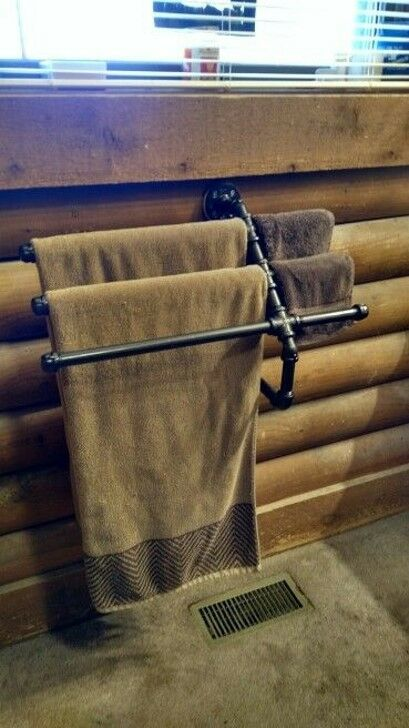 MULTIPLE HAND & BATH TOWEL RAIL FOR BATHROOM - INDUSTRIAL INDUSTRIAL INDUSTRIAL WATER PIPES 189b8d