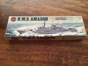 Airfix-H-M-S-Amazon-1-600-model-kit-Nuovo-da-realizzare
