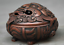 3-8-034-Old-Chinese-Red-Bronze-Dynasty-Beast-Zun-Statue-Incense-Burner-Censer thumbnail 2