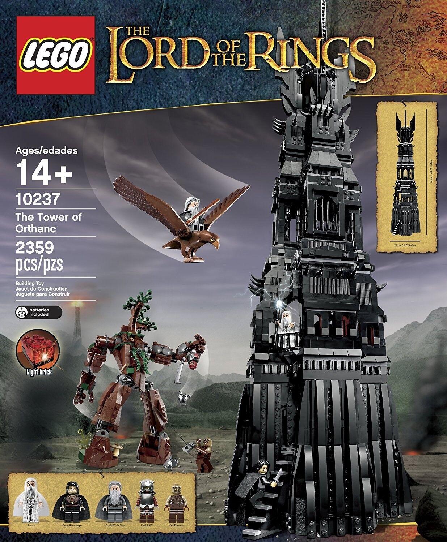 LEGO - Herr der Ringe - Tower of Orthanc (10237) NEU