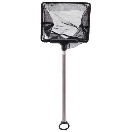 Details about  /Mesh Fish Tank Net with Long Handle Telescopic Fine Mesh Fishnet with