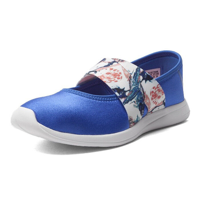 Adidas Neo Cloudfoam Pure femmes Canvas Lo Casual chaussures Trainers UK4 - 7.5