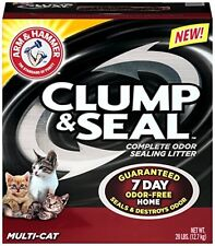 Arm and Hammer Clump and Seal Litter, Multi-Cat, 28 Lbs