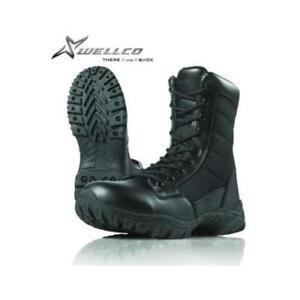 US Military Wellco Hot Weather Combat Homme entrée Boot Noir Tailles-afficher le titre d`origine fLq81DyB-07153000-564187481