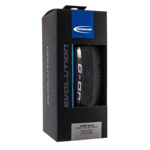 NEW Schwalbe G-One Speed Tubeless Road Tire 700 x 30 Folding Bead Black with