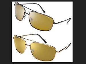 fe2485cc6a Eagle Eyes Navigator Gold Black Sunglasses Set (2 pairs)- NEW!! Fast ...