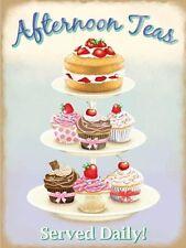 Afternoon Tea, Cake Stand, Kitchen, Cafe, Restaurant, Pub, Novelty Fridge Magnet