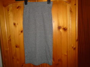 63dfd9be4 Grey and black marl jersey pencil skirt, H&M, size XS, UK 4-6, NEW ...